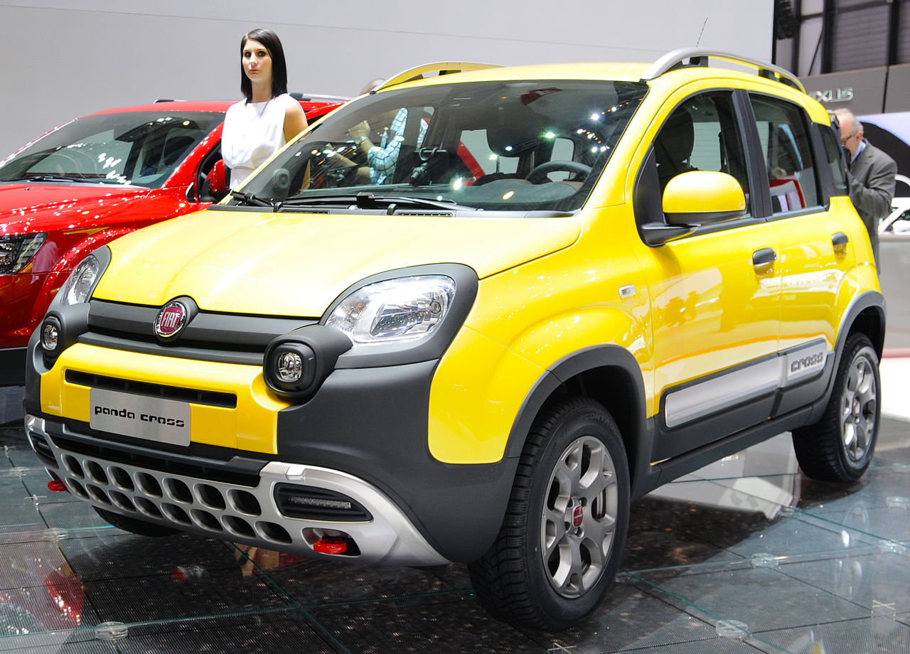 Panda_Cross_by_Fiat_-_yellow_urban_suv